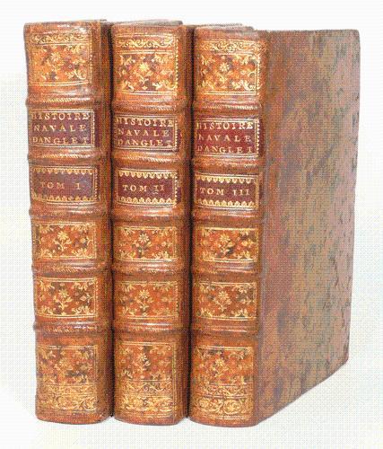 HISTOIRE NAVALE D'ANGLETERRE, depuis la conquête des Normands en 1066, jusqu'&...