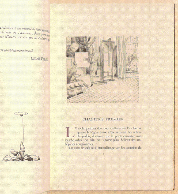LE PORTRAIT DE DORIAN GRAY. Traduction nouvelle d'Edmond Jaloux et Félix Frapereau avec...