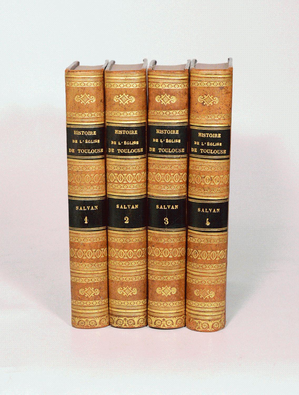 Vialibri Rare Books From 1856 Page 15 Zehn Mop Zt 22 Orange Salvan Abb Adrien Histoire Gnrale De Lglise Toulouse Depuis Les Temps Plus Reculs Jusqu Nos Jours Recueillie Des Monuments