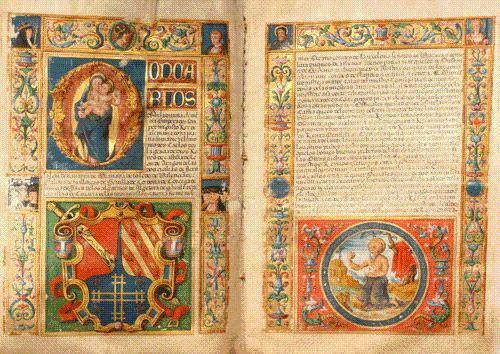 TITRES DE NOBLESSE EN ESPAGNOL DE GONZALO de TOZO (1540).: TOZO (Gonzalo de) - MANUSCRIT].