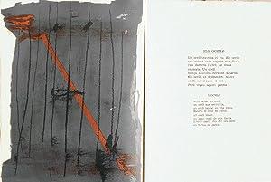 EL PA A LA BARCA. Vint-I-dues litografies: BROSSA (Joan) -