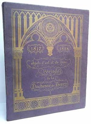 OBJETS D'ART ET DE LUXE DE LA DUCHESSE DE BERRY. Tableaux modernes - Aquarelles et dessins - ...