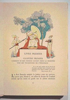 LES AVENTURES DU ROI PAUSOLE. Illustrations en couleurs de Jacques TOUCHET.: LOUYS (Pierre).