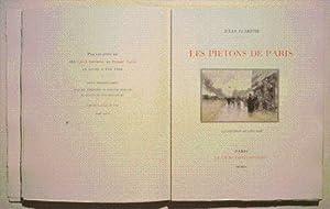 LES PIÉTONS DE PARIS. Illustrations de Luigi: CLARÉTIE (Jules).