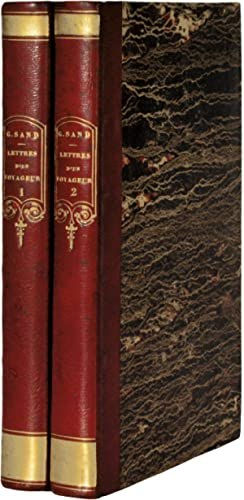 LETTRES D'UN VOYAGEUR. [2 volumes].: SAND (George).