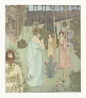 NAUSIKAA. Traduction de Leconte de Lisle. Compositions décoratives de Gaston de LATENAY.: ...