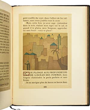 L'OFFRANDE LYRIQUE. Traduction d'André Gide.: TAGORE (Rabindranath).