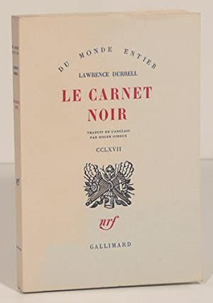 LE CARNET NOIR. Traduit de l'anglais par Roger Giroux.: DURRELL (Lawrence).