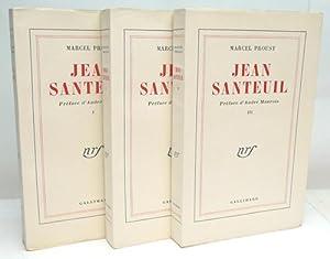JEAN SANTEUIL. Préface d'André Maurois. [3 volumes].: PROUST (Marcel).