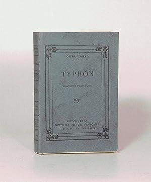 TYPHON. Traduction d'André GIDE.: CONRAD (Joseph) - GIDE (André).