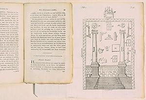 DE METSELAAR ONTMOMD, of het rechte geheim der vrij-metselaaren ontdekt ; in allen deele ...