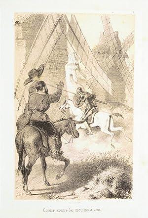 HISTOIRE DE DON QUICHOTTE DE LA MANCHE, traduite sur le texte original et d'après les ...