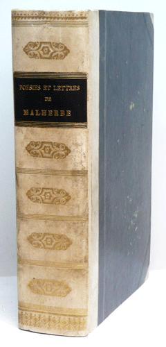 POESIES DE MALHERBE, ornées de son portrait: MALHERBE (François de).