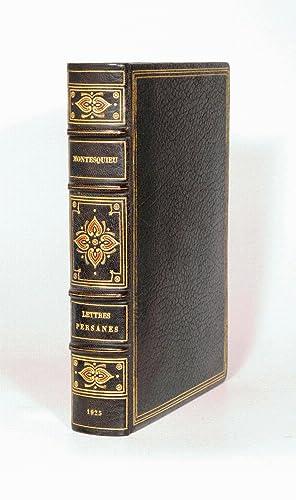 LETTRES PERSANES. Illustrations de Maurice de Becque.: MONTESQUIEU (Charles-Louis de