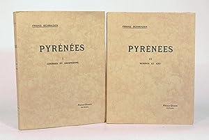 PYRÉNÉES. Tome I : Courses et ascensions. Tome II : Sciences et art. [2 volumes].: ...