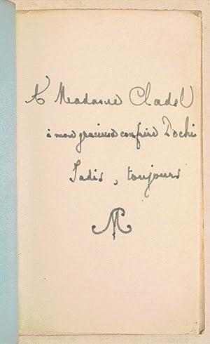 VERS ET PROSES. Morceaux choisis. Avec un portrait par James M. N. Whistler.: MALLARMÉ (Stéphane).