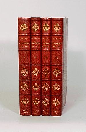 L'HOMME QUI RIT. [4 volumes].: HUGO (Victor).
