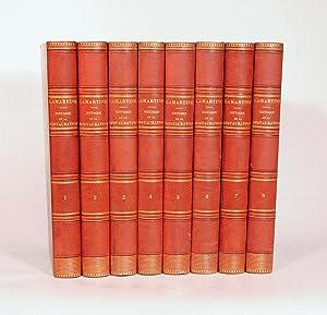 HISTOIRE DE LA RESTAURATION. [8 volumes].: LAMARTINE (Alphonse de).