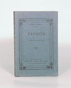 TYPHON. Traduction d'André GIDE.: CONRAD (Joseph) -