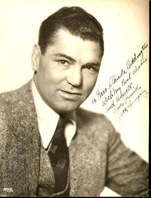 PHOTOGRAPHIE ORIGINALE.: DEMPSEY (William HARRISON, dit Jack). Boxeur américain (1895-1983).