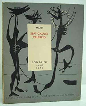 SEPT CAUSES CELEBRES.: MAAST [Pseudonyme de Jean PAULHAN].