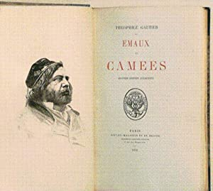 EMAUX ET CAMEES. Seconde édition augmentée. [avec un poème MANUSCRIT de l&#x27...