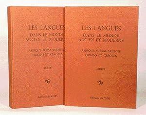 LES LANGUES DANS LE MONDE ANCIEN ET: PERROT (Jean) -