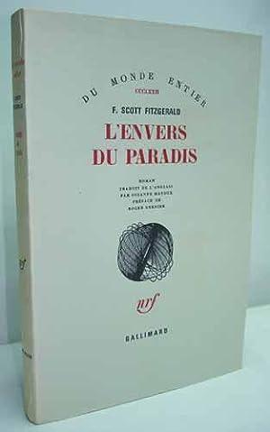 L'ENVERS DU PARADIS. Roman traduit de l'anglais par Suzanne Mayoux. Préface de ...