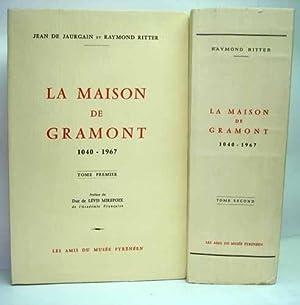 LA MAISON DE GRAMONT (1040-1967). Préface du: JAURGAIN (Jean de)