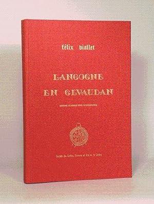 LANGOGNE EN GEVAUDAN. Dessins de Marie-Noëlle MOURGUES.: VIALLET (Félix).