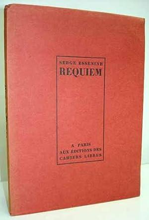 REQUIEM suivi d'autres poèmes. Traduits du russe par Marie Miloslawsky et Franz Hellens...