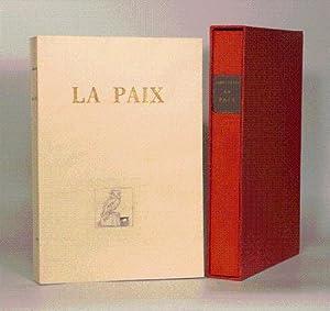 LA PAIX. Traduction nouvelle de M. Louis: ARISTOPHANE.