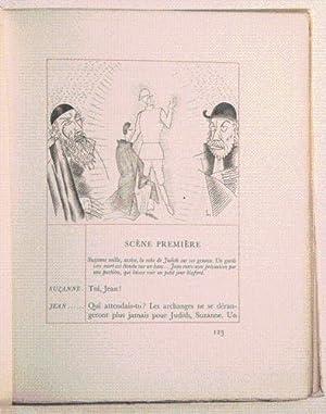 JUDITH. Tragédie en trois actes illustrée par LABOUREUR.: GIRAUDOUX (Jean).