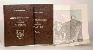 ABRÉGÉ CHRONOLOGIQUE DE L'HISTOIRE D'ARLES avec un atlas de planches [2 ...