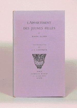 L'APPARTEMENT DES JEUNES FILLES. Orné de gravures: ALLARD (Roger).