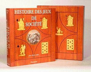 HISTOIRE DES JEUX DE SOCIÉTÉ. Géométries du désir.: LHOTE (...