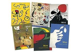 Miró Paintings 6 volumes: Jacques Dupin y Ariane Lelong-Mainaud