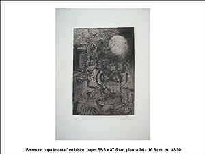 Nou variacions sobre tres gravats 1947-1948: Antoni Tàpies