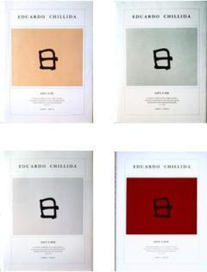 Chillida Opus (Vol I-II-III-IV) Catalogue raisonné of the graphic work/catálogo razonado de la obra...