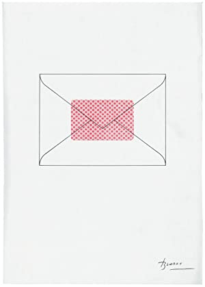 Joan Brossa - Darrere la carta (Serigrafia facsímil): Joan Brossa