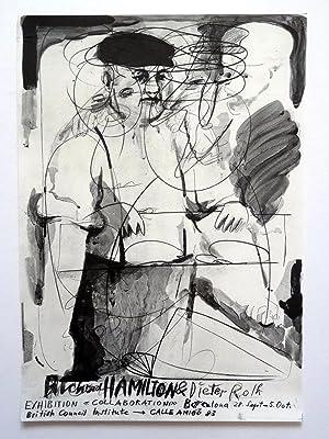 Poster Affiche Plakat - Richard Hamilton y Dieter Roth - Collaborations 1976 - 1977: Richard ...