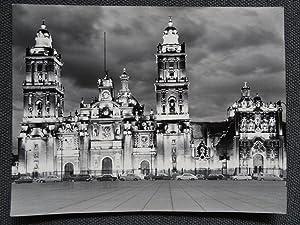 Catedral de México de Noche - George Friedman (Carpeta de los Diez) - Fotografia original (Vintage)...