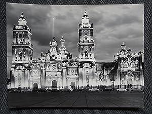 Catedral de México de Noche 2 George Friedman - (Carpeta de los Diez) - Fotografia original (...