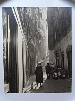 Génova - George Friedman - (Carpeta de los Diez) - Fotografia original (Vintage) con Certificado de...