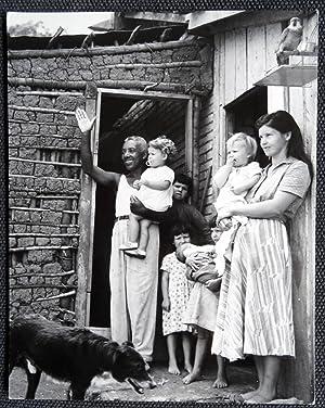 Familia en la favela . Río de Janeiro - George Friedman - (Carpeta de los Diez) - Fotografia ...