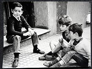 Niños - George Friedman - (Carpeta de los Diez) - Fotografia original (Vintage) con Certificado de ...