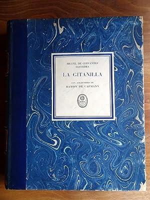 La Gitanilla. Ilustraciones al Aguafuerte De Ramón De Capmany.: Cervantes Saavedra, Miguel De