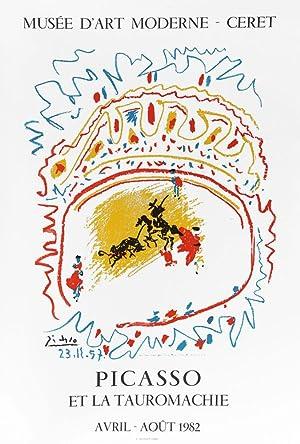 Lithographic Poster Picasso et la tauromachie - Mourlot freres: Pablo Picasso