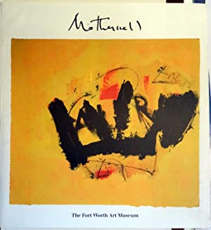 Poster Affiche Plakat - Motherwell The Forth Worth Art Museum: Robert Motherwell