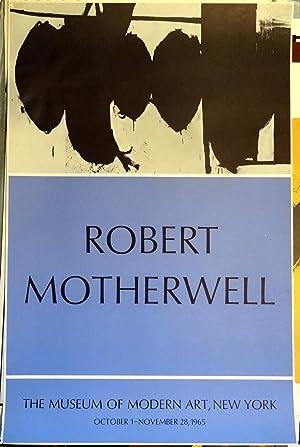 Poster Affiche Plakat - Motherwell The Museum of Modern Art, New York 1965: Robert Motherwell